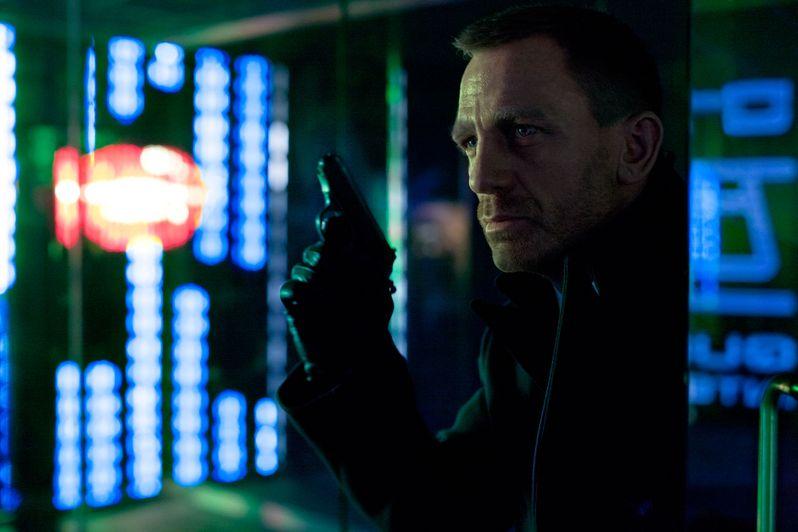 Daniel Craig as James Bond in <strong><em>Skyfall</em></strong>