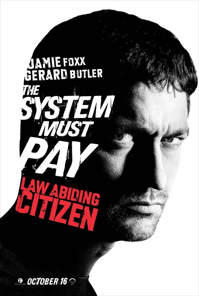 <strong><em>Law Abiding Citizen</em></strong> Gerard Butler Poster