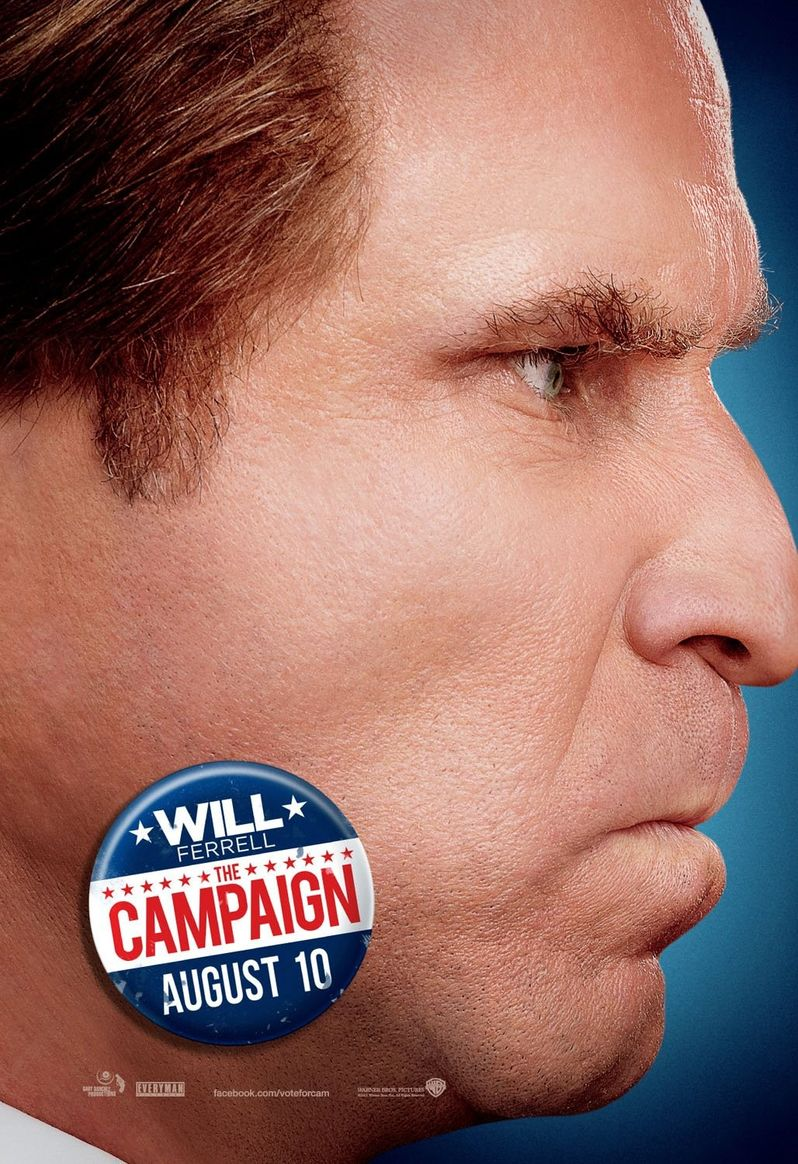 <strong><em>The Campaign</em></strong> Nose-to-Nose Poster #1