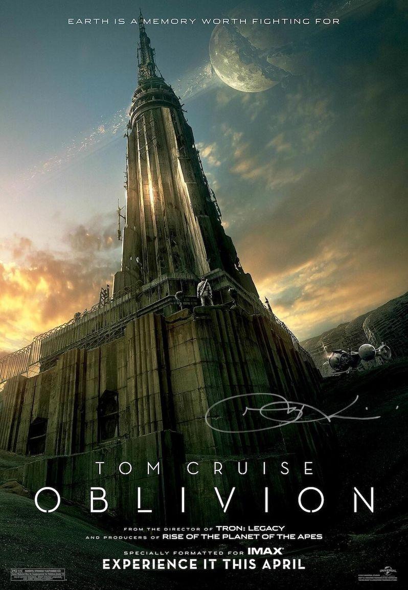 <strong><em>Oblivion</em></strong> IMAX Midnight Screening Poster