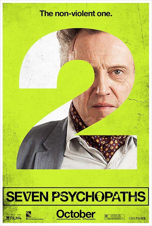 <strong><em>Seven Psychopaths</em></strong> Character Poster #2