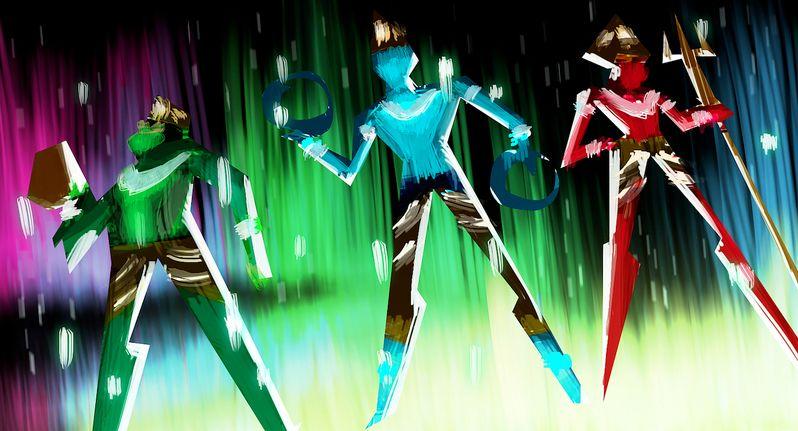 Sanjay's Super Team Concept Art 3