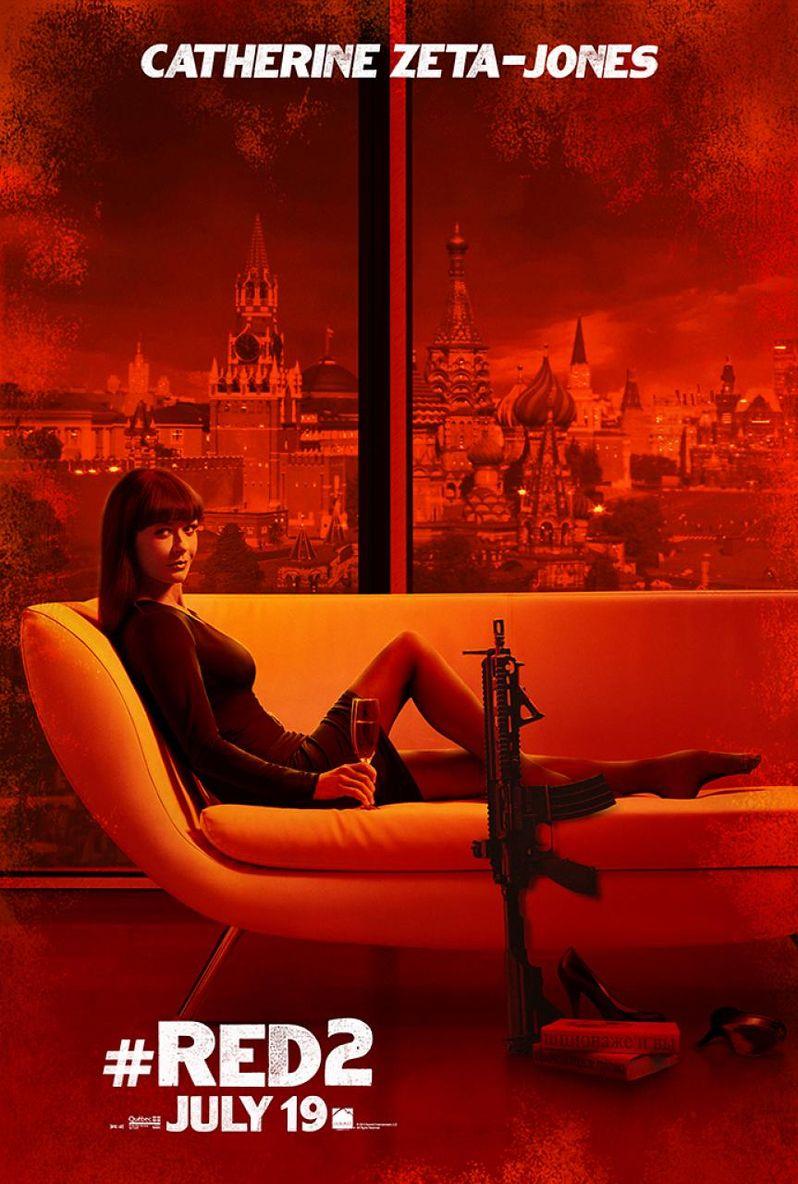 <strong><em>Red 2</em></strong> Catherine Zeta Jones Poster