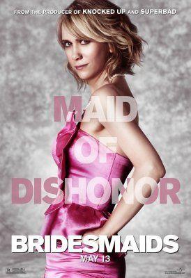 <strong><em>Bridesmaids</em></strong> Kristen Wiig Character Poster