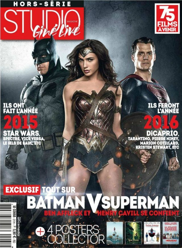 Batman V Superman Studio Cine Live Cover