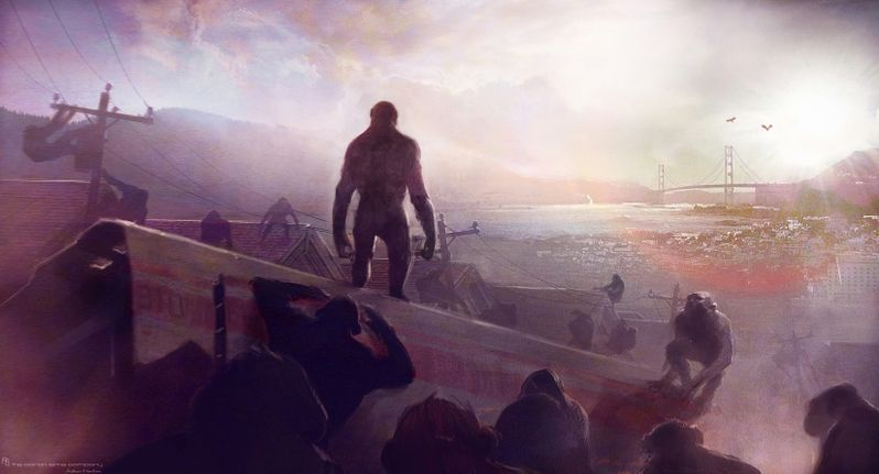 <strong><em>Rise of the Planet of the Apes</em></strong> Concept Art #4