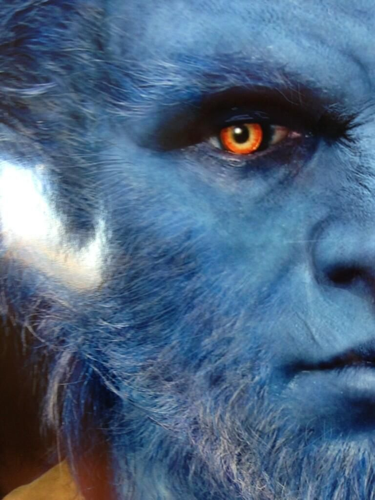 <strong><em>X-Men: Days of Future Past</em></strong> Set Photo with Beast