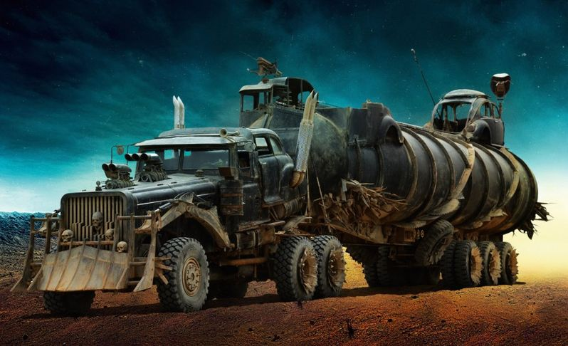 <strong><em>Mad Max: Fury Road</em></strong> The War Rig Photo