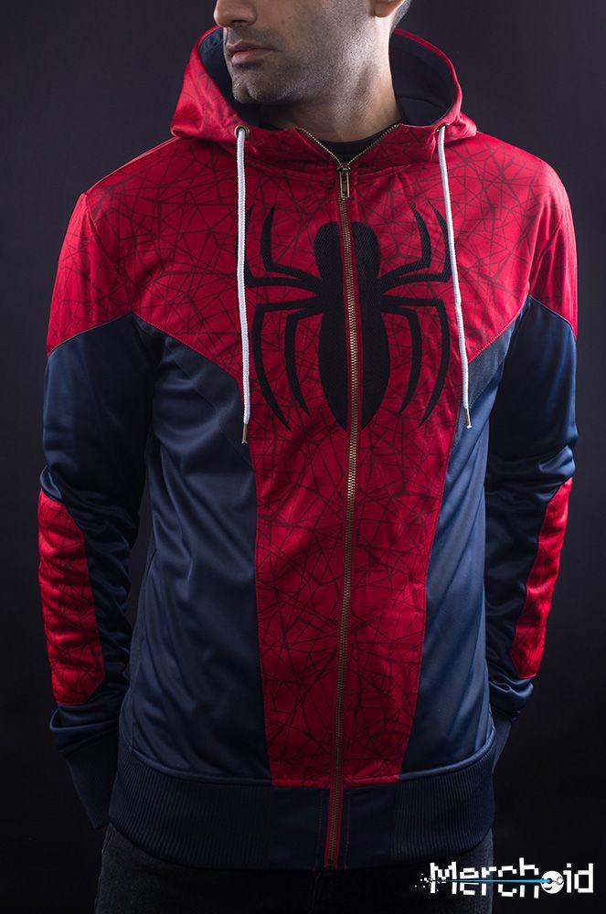 Spiderman Hoodie Marvel Merchoid #4