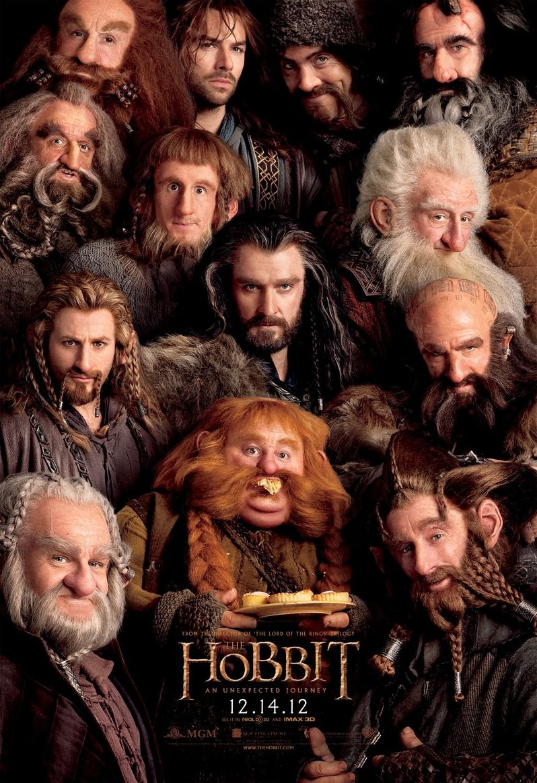 <strong><em>The Hobbit: An Unexpected Journey</em></strong> Dwarves Poster