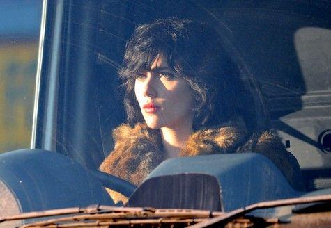 Scarlett Johansson on the set of <strong><em>Under the Skin</em></strong> #5