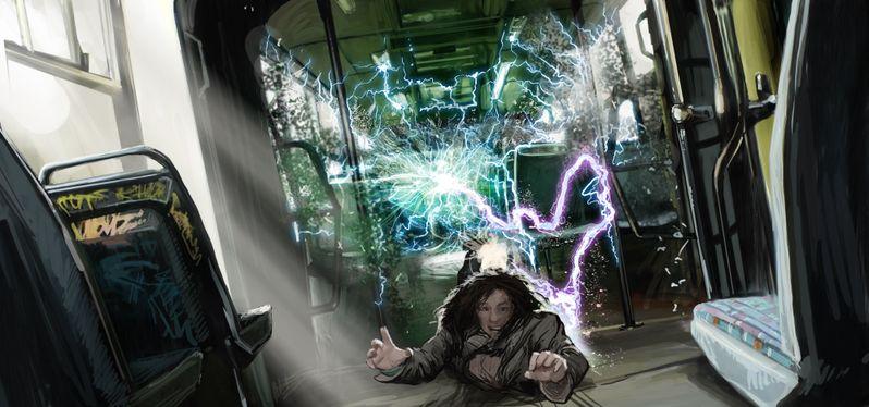 <strong><em>The Darkest Hour</em></strong> Concept Art - Trolley Attack