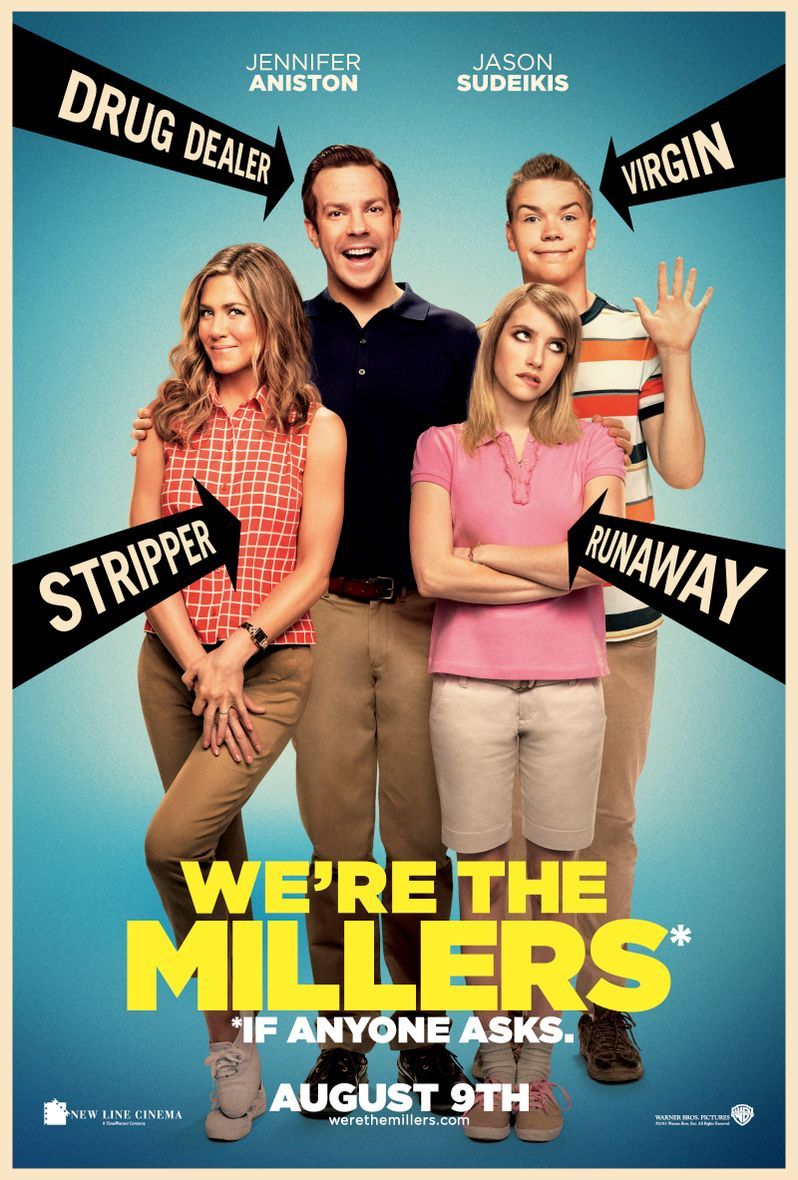 <strong><em>We're the Millers</em></strong> Poster