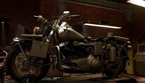 Captain America The First Avenger Harley Davidson #4