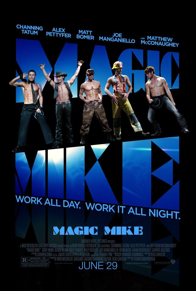 <strong><em>Magic Mike</em></strong> Poster