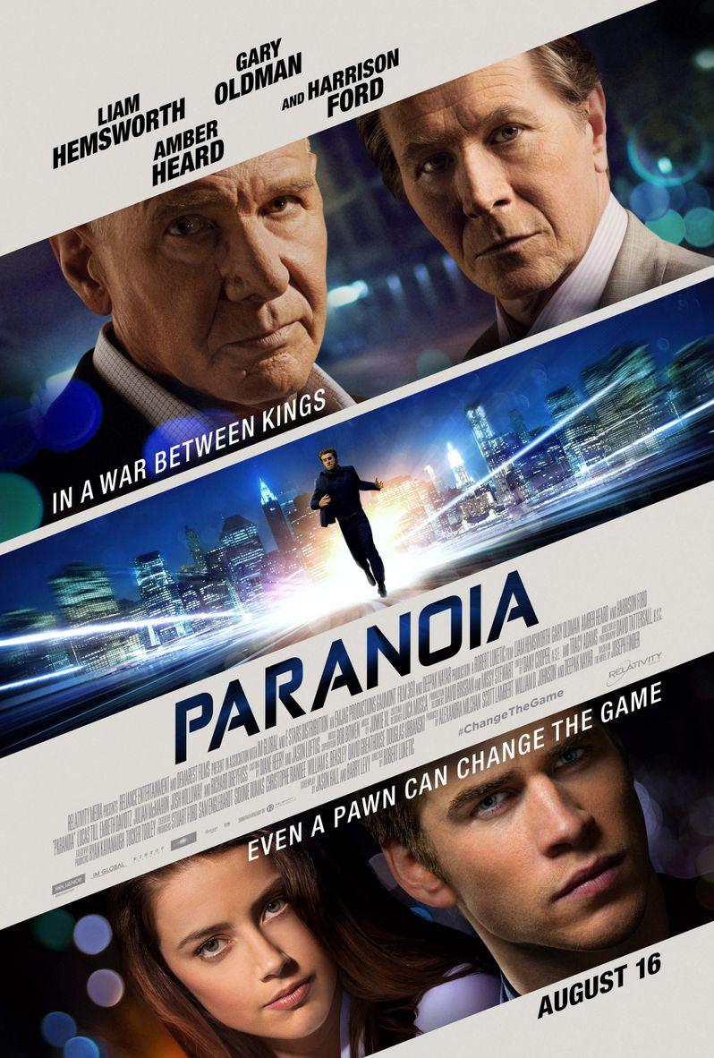<strong><em>Paranoia</em></strong> Poster