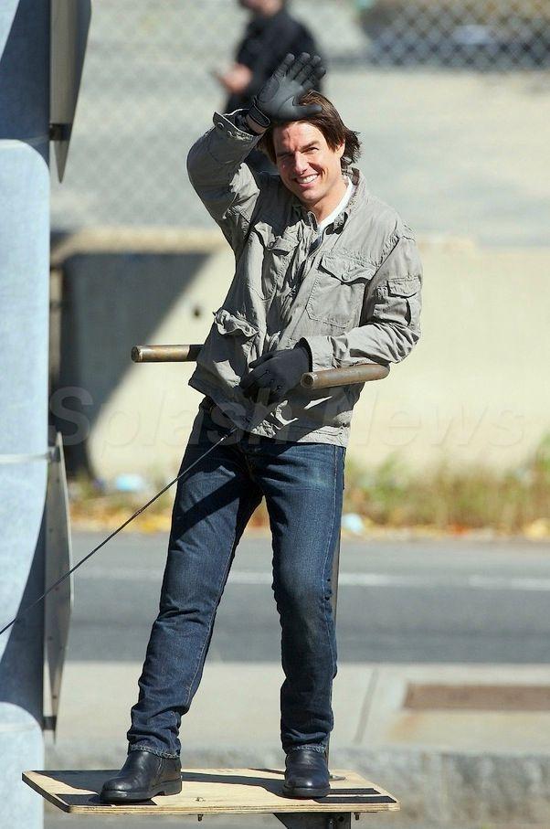 Tom Cruise on the set of Wichita #2
