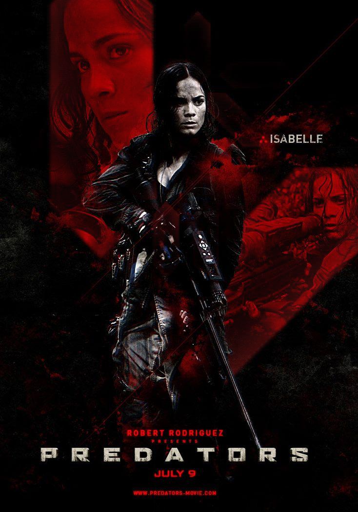 <strong><em>Predators</em></strong> Alice Braga Character Poster