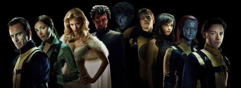 X-Men First Class Cast Photo