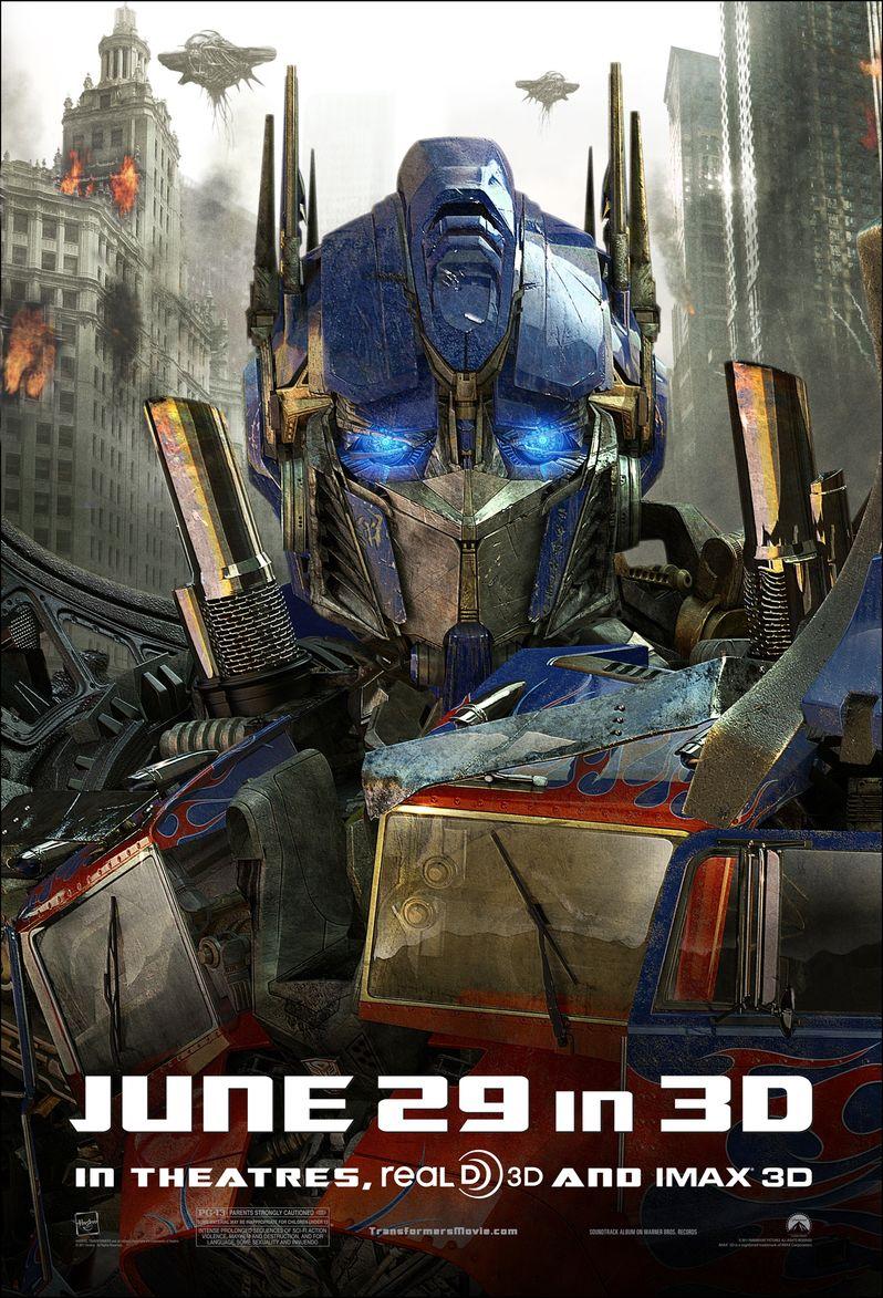 <strong><em>Transformers: Dark of the Moon</em></strong> Optimus Prime Poster