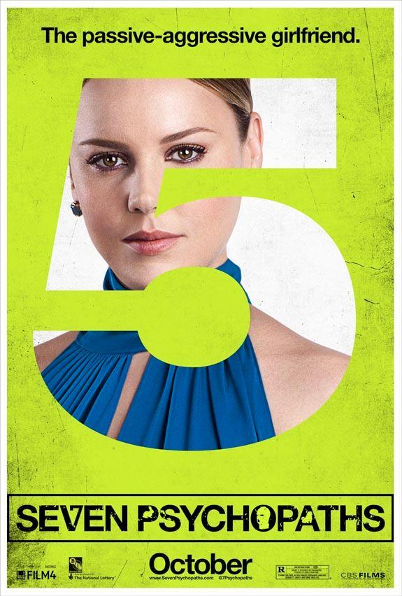 <strong><em>Seven Psychopaths</em></strong> Character Poster #5