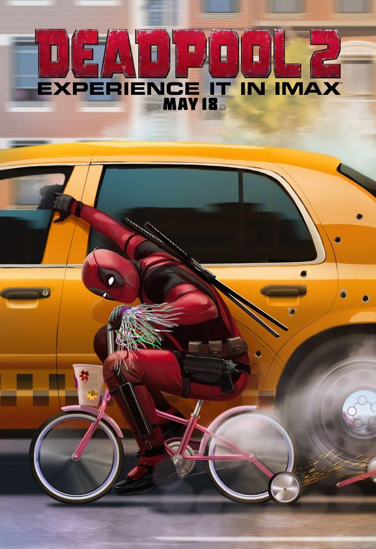 <strong><em>Deadpool 2</em></strong> IMAX poster