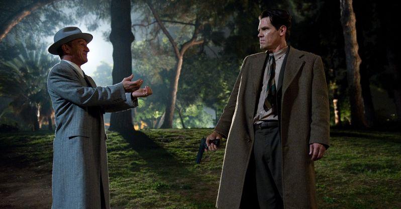 Sean Penn and Josh Brolin in <strong><em>Gangster Squad</em></strong>