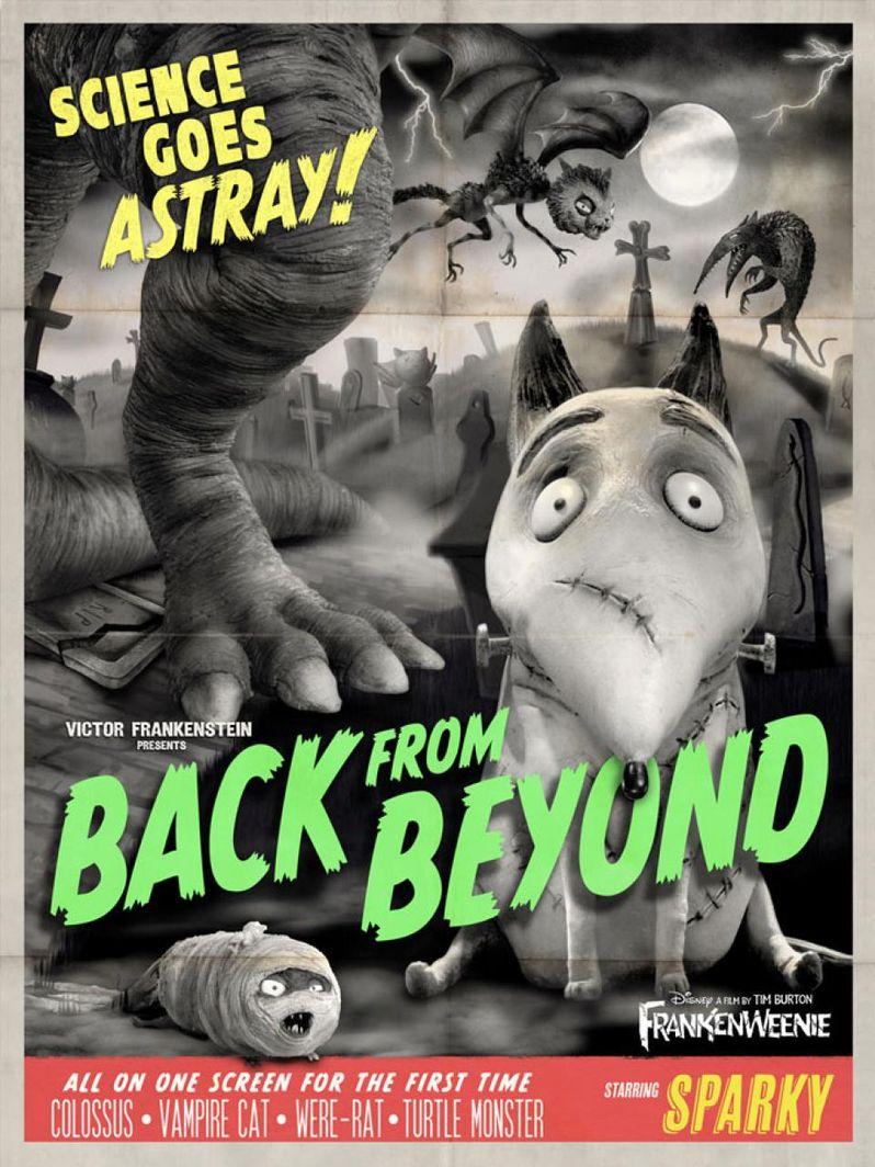 <strong><em>Frankenweenie</em></strong> Retro Poster 2