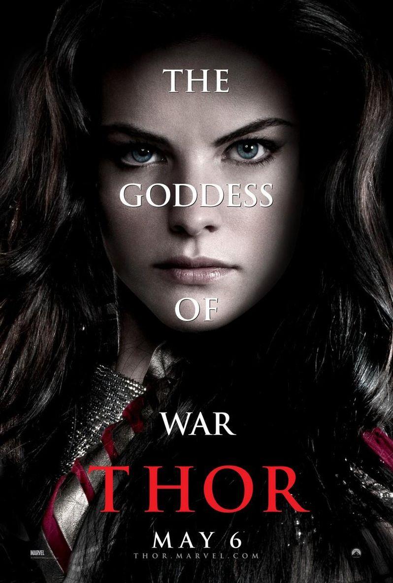 <strong><em>Thor</em></strong> Jaimie Alexander Character Poster