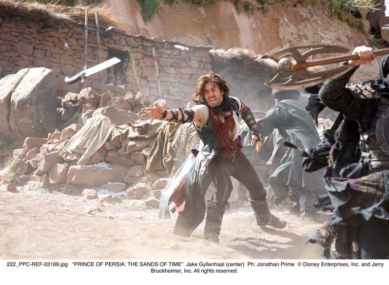 Jake Gyllenhaal in action
