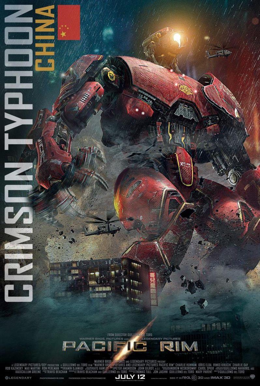 <strong><em>Pacific Rim</em></strong> Crimson Typhoon Jaegar Poster