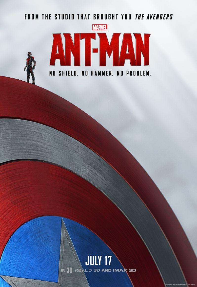 <strong><em>Ant-Man</em></strong> Captain America Poster