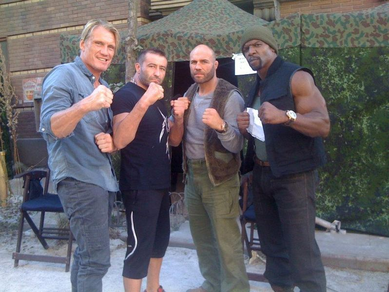 <strong><em>The Expendables 2</em></strong> Set Photo #4