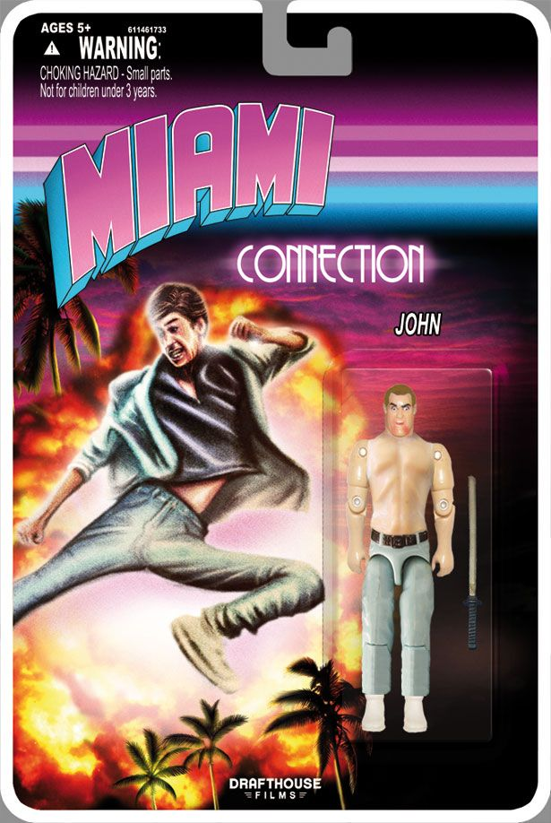 <strong><em>Miami Connection</em></strong> Action Figure Photo #3