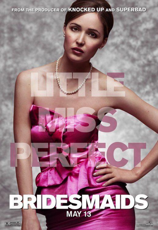 <strong><em>Bridesmaids</em></strong> Rose Byrne Character Poster