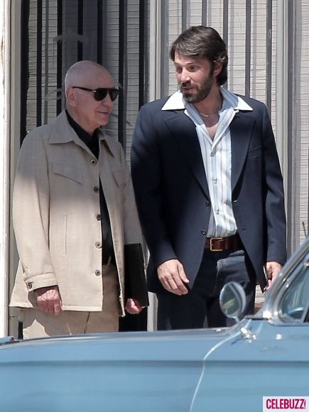 Ben Affleck on the set of <strong><em>Argo</em></strong> #4