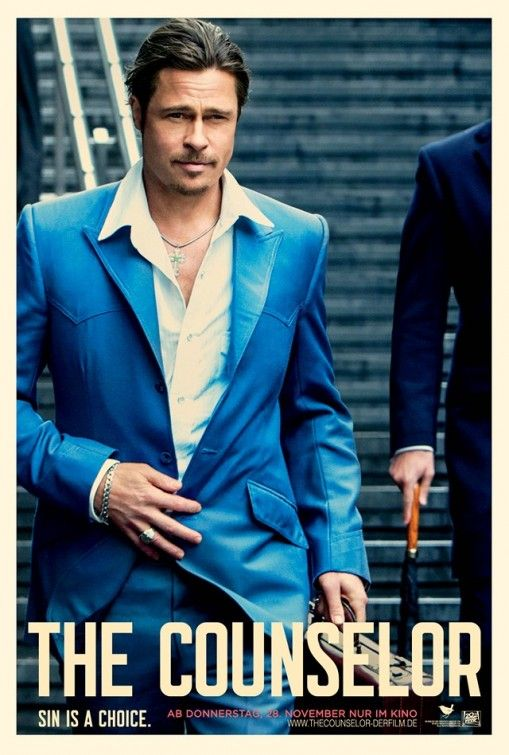 <strong><em>The Counselor</em></strong> Brad Pitt Character Poster