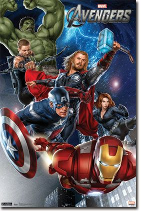 The Avengers Poster #1
