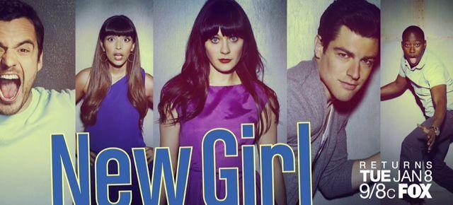 <strong><em>New Girl</em></strong> Season 2 returns promo Art