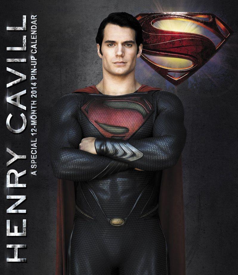 <strong><em>Man of Steel</em></strong> Wall Calendar 4
