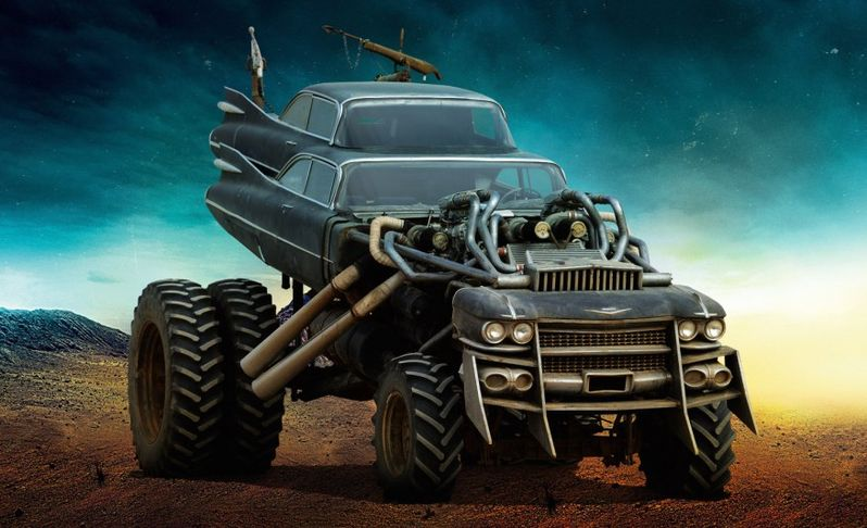<strong><em>Mad Max: Fury Road</em></strong> The Gigahorse Photo