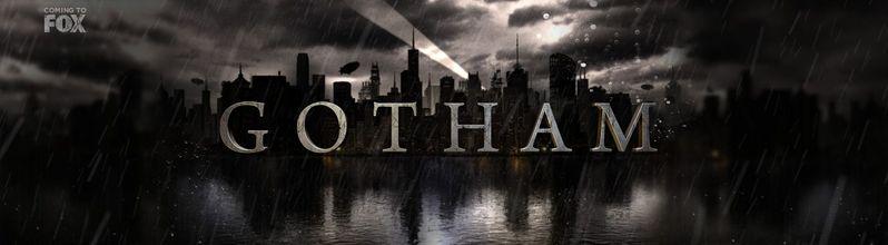 <strong><em>Gotham</em></strong> Logo