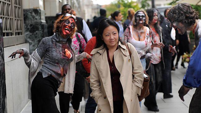 <strong><em>The Walking Dead</em></strong> in DC
