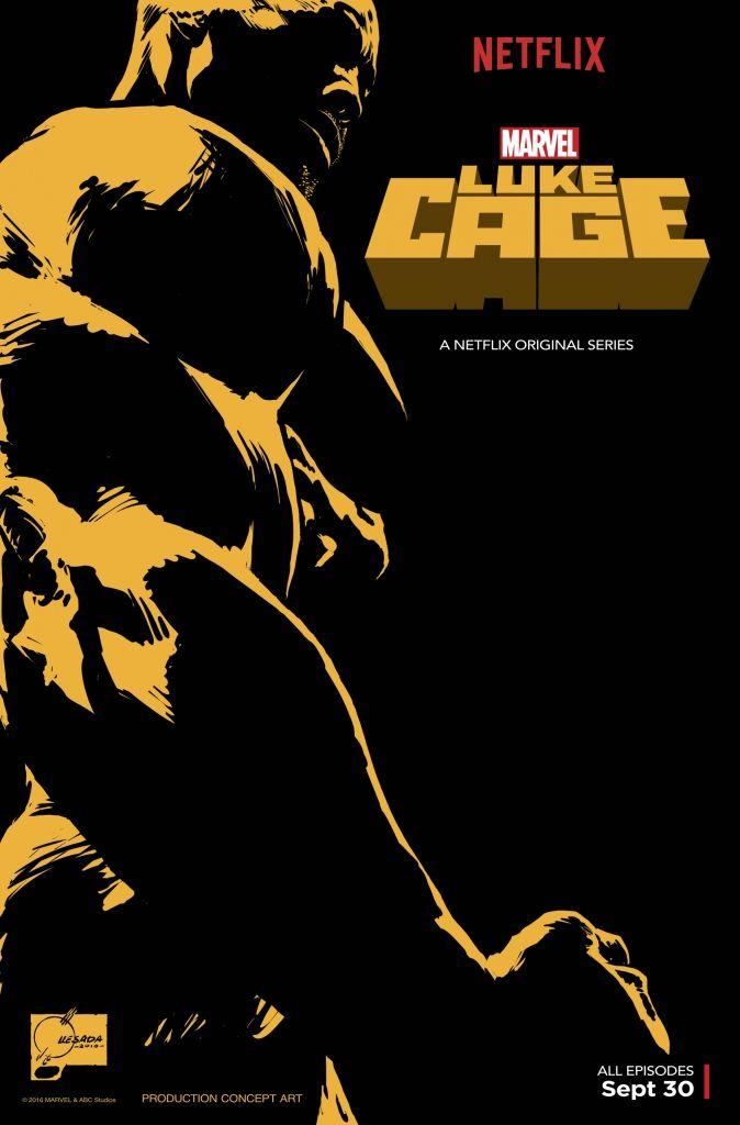 Luke Cage Comic-Con Poster