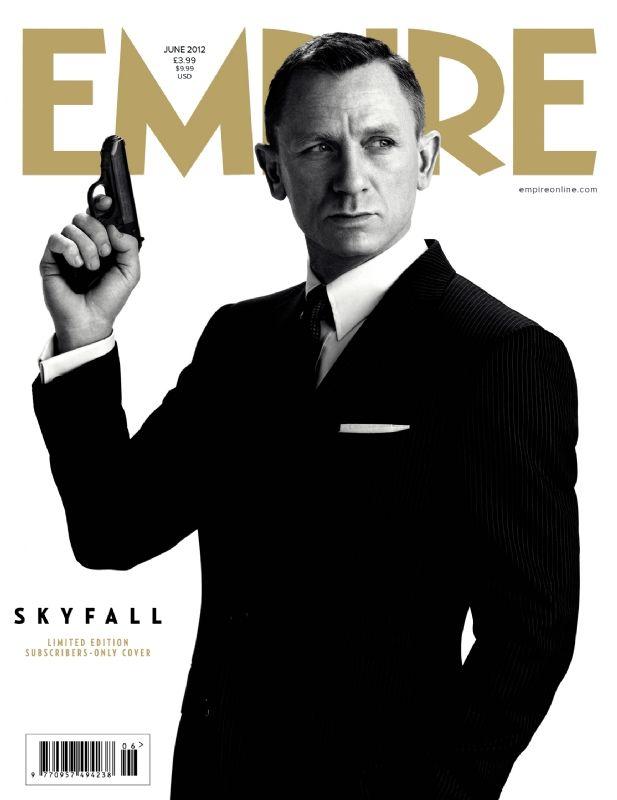<strong><em>Skyfall</em></strong> Empire Magazine Cover #2