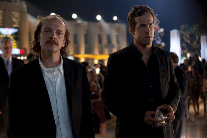 Peter Sarsgaard as Hector Hammond and Ryan Reynolds as Hal Jordan