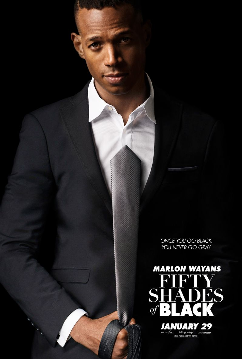<strong><em>Fifty Shades of Black</em></strong> Poster