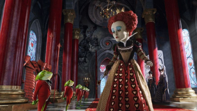 Helena Bonham Carter Discusses Being the Red Queen For <strong><em>Alice in Wonderland</em></strong>