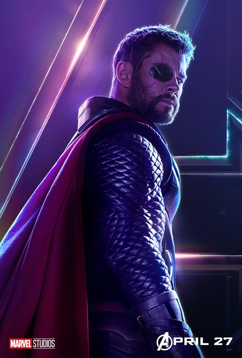 Avengers Infinity War Character Poster #5