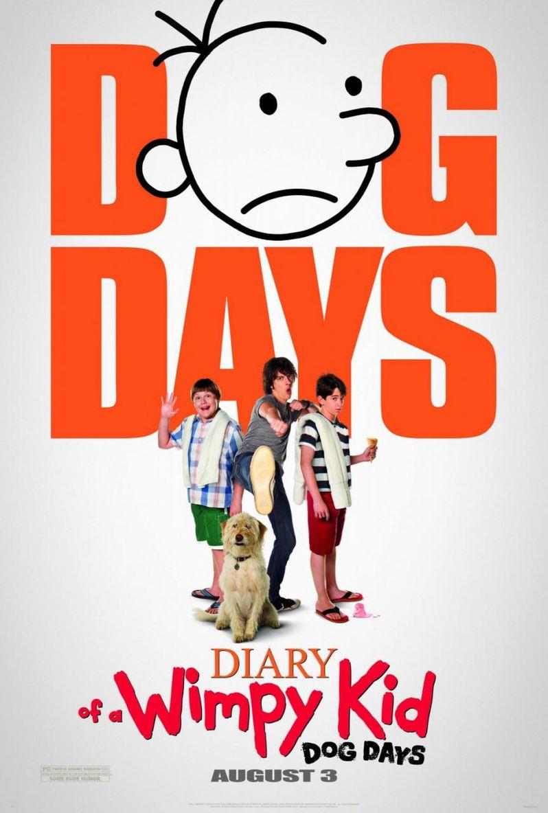 Diary of a Wimpy Ki: Dog Days Poster